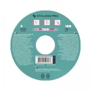 Запасной блок файл-ленты для пластиковой катушки STALEKS PRO 100 грит (8 м) ATS-100 (СТАЛЕКС)