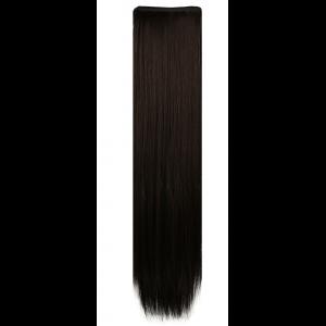 Искусственные накладные пряди №4 прямые 50 см, 60см HAIRSHOP