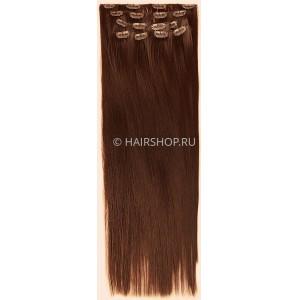 Искусственные накладные пряди №30 прямые 50см HAIRSHOP