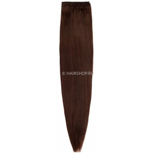 Волосы на трессе прямые 5.0 40 см (3В) (50гр)
