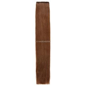 Волосы на трессе прямые 6.0 (6) 40 см 50 гр HAIRSHOP