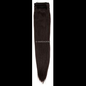Волосы на трессе прямые 60см