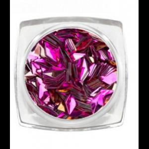 Дизайн для ногтей 3D ромбы розовый кварц 3802 RuNail