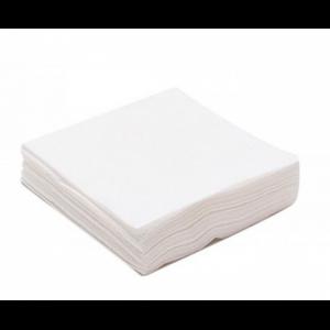 Салфетка 20*20 100 шт спанлейс 40 гр белые (90)