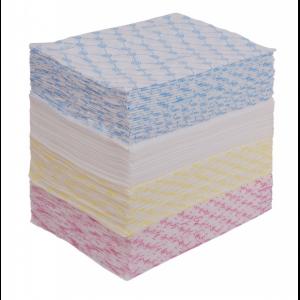 Салфетка 20*30 100 шт спанлейс 40 гр цветные (200)