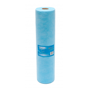 Салфетка одноразовая 40*40 SMS 20 голубой White line пачка (№200) рол