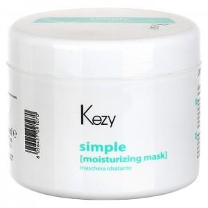 Маска увлажняющая для всех типов волос  500мл Kezy Simple Moisurizing 92006