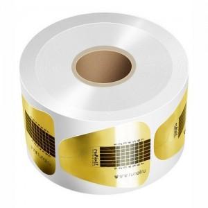 Формы бумажные одноразовые ЗОЛОТО, РОЗОВЫЕ широкие, узкие 1 шт 0795 RuNail
