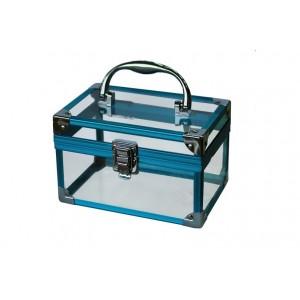 Кейс голубая рама прозр стекло 175*115*115см  Jess Nail