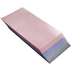 Бумага для мелирования короткая цветная 200 шт 4333081 Хитек