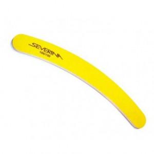 Пилка маникюрная полимерная (банан/прямая)(100/150) СЕВЕРИНА