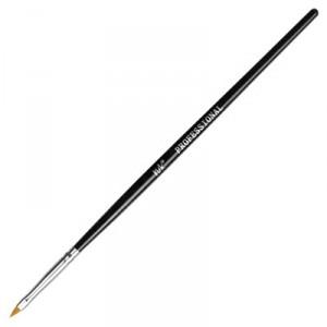 Кисть-лепесток для китайской росписи искусственный ворс длина ручки 17,5 см К329-16 IRISK