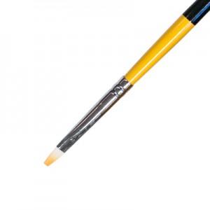 Кисть для геля искусственный ворс прямая № 3 IRISK К209-03
