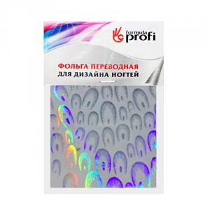 Фольга переводная голографическая с рисунком перышки 6*12 см TGR-01 Формула-Профи