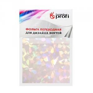 """Фольга переводная перламутровая""""Битое стекло"""" 6*12 см 8932 Формула-Профи"""