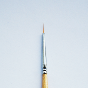 Кисть для прорисовки нейлон круглая № 4/0 (0,5мм) с логотипом 14615 Формула-Профи