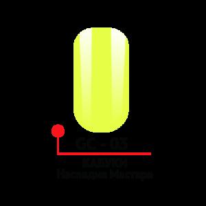 "Гель-краска ""Кабуки"" №02 5 гр Формула-Профи"