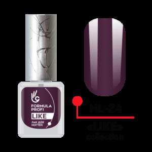 Лак для ногтей 24 Like 5мл NL-24 Формула Профи