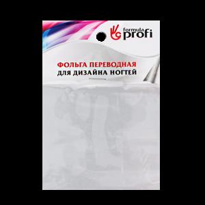 Фольга переводная серебро матовое 6*12 см 8002-11 Формула-Профи