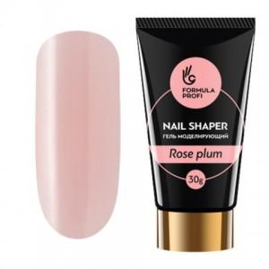 "Гель моделирующий ""NAIL SHAPER"" Rose plum 30 гр 5472 Формула Профи"