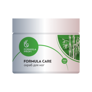 "Скраб для ног бамбук 300 гр 1703 ""FORMULA CARE"" Формула-Профи"