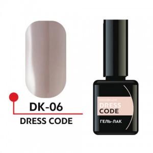 "Гель-лак ""DRESS CODE"" 5мл №06 DK-06 Формула Профи"
