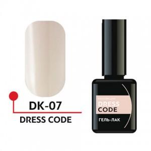 "Гель-лак ""DRESS CODE"" 5мл №07 DK-07 Формула Профи"