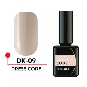 "Гель-лак ""DRESS CODE"" 5мл №09 DK-09 Формула Профи"