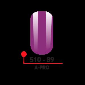 89 Цветной гель-лак А-Про 5 мл 510-89