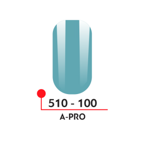 100 Цветной гель-лак А-Про 5 мл 510-100