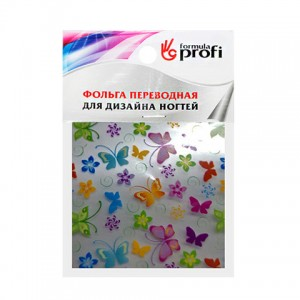 Фольга переводная с рисунком бабочки 6*12 см TGR-26 Формула-Профи