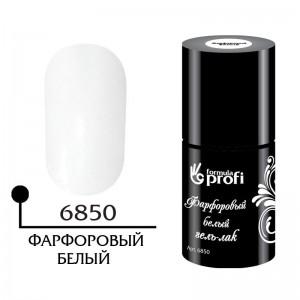 Фарфоровый белый гель-лак 10 мл 6850 Формула Профи
