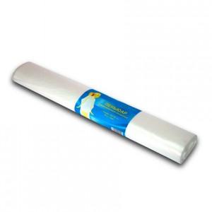 Пеньюар п/э прозрачный 140*100 50 шт РУЛОН (260) White Line