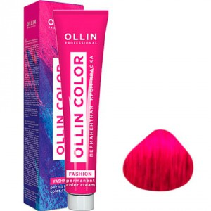 Перманентная крем-краска 60 мл экстра-интенсивный красный Fashion Color OLLIN COLOR 395652