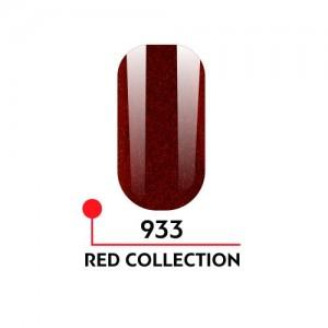 "Гель-лак uv/led 5мл ""Red Collection"" №933 3750-933"