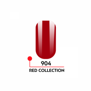 "Гель-лак uv/led 5мл ""Red Collection"" №904 3750-904"