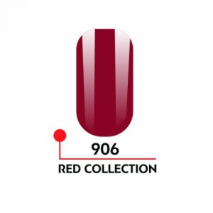 "Гель-лак uv/led 5мл ""Red Collection"" №906 3750-906"