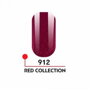 "Гель-лак uv/led 5мл ""Red Collection"" №912 3750-912"
