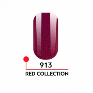 "Гель-лак uv/led 5мл ""Red Collection"" №913 3750-913"