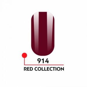 "Гель-лак uv/led 5мл ""Red Collection"" №914 3750-914"
