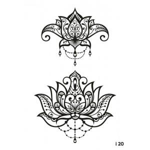 Переводные татуировки ногтей MILV Россия