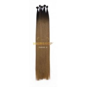 Волосы на капсуле натуральный волос 1 капсула 40 см (80) HAIRSHOP