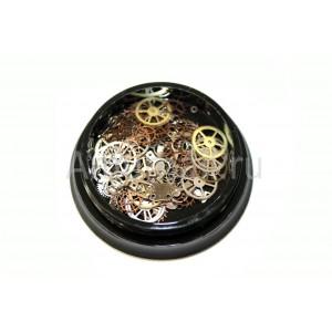 Металлические украшения для ногтей 5 шт*1 уп. (40) AmurNail