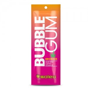 SOLEO BUBBLE GUM Бронзатор с ускорителем загара с алоэ, медью и витамином В 15 мл 500573