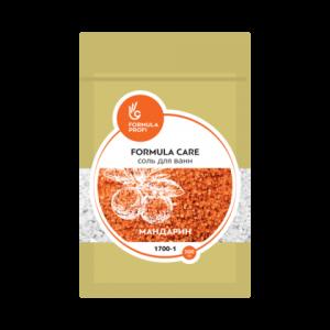"Соль для ванн 500 гр (мандарин) 1700-1 ""FORMULA CARE"""