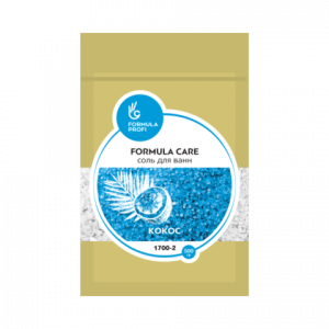"""Соль для ванн 500 гр (кокос) 1700-2 """"FORMULA CARE"""""""
