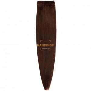 Волосы на трессе прямые 5.0 (3В) 60 см 60гр HAIRSHOP