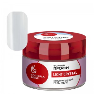 Гель-желе камуфлирующий Light crystal 30 гр 546530 Формула Профи