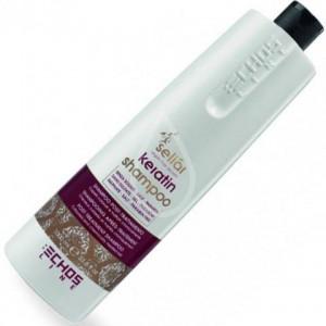 Восстанавливающий шампунь с маслом Аргании и кератином 1000 мл 20276 ECHOSCOLOR
