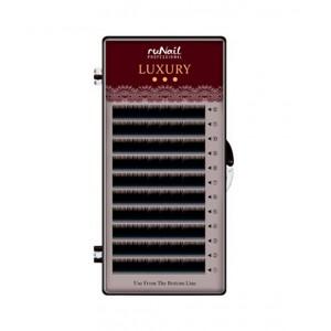 Ресницы для наращивания Luxury d 0,07мм, Mix C (№ 7,8,9,10,11,12,14) 12 линий 3969 RuNail